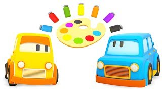 Why it is necessary to use learning color toys for kids under the age group 4?
