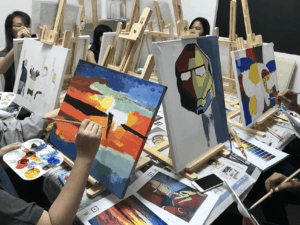 Art jamming – the best spot to detox mind